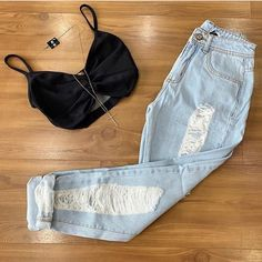 (notitle) - Outfit's to buy/Thing's - Roupas Ideias Sneakers Fashion Outfits, Nike Outfits, Dance Outfits, Jean Outfits, Fashion Now, Curvy Fashion, Girl Fashion, Womens Fashion, Fashion Edgy