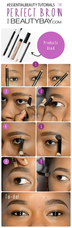 Create the perfect brow! Click through for our full tutorial | #EssentialBeauty | BeautyBay.com