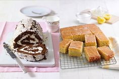 Mary Berry's cakes never fail to impress both taste buds and guests! Have a go at this Chocolate Roulade or her Lemon Drizzle Traybake for a simple but effective baking experience.