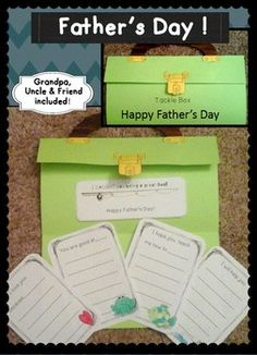 ....Don't forget DAD! *Perfect father's day craftivity for May or June!F ather's Day  ~ End of the Year Activity!