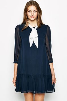 The Studfold Babydoll Dress | Jack Wills