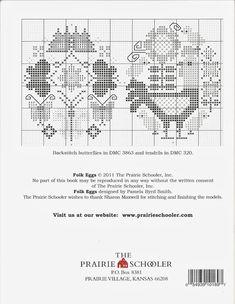 "BOOK 169 FOLK EGGS Милые сердцу штучки: ""Пасхальная корзинка от The Prairie schooler"""