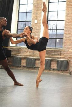 """""""You have the wrong body for Ballet."""" 