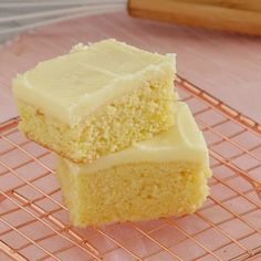The easiest and most delicious baked Lemon Slice with tangy frosting. A quick, simple and classic recipe.