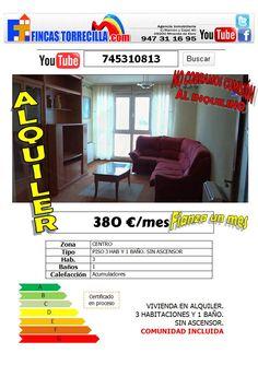 745310813 380 €/mes 3hab 1 baño+aseo Miranda de Ebro http://www.youtube.com/watch?v=HAHwdTwTMXk