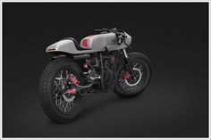 Yamaha Scorpio Street Fighter by Thrive Motorcycles, Jakarta