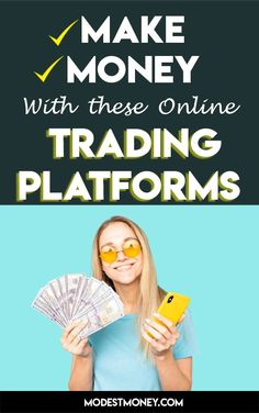 Online trading is all the rage these days, and it's not likely to go away anytime soon. That's why we decided to take a look at the best online trading platforms. Online Trading, Day Trading, Stock Market Trends, Best Trade, Investing Money, Cool Things To Make, Rage, Platforms, How To Make Money