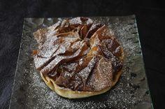 Tarte aux marrons et à la poire Pancakes, Breakfast, Desserts, Food, Pear, Conkers, Greedy People, Pie, Kitchens