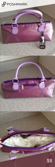 NWT Insulated Wine Clutch Purple wine clutch Insulated Other