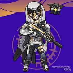 Destiny, Game 1, Fictional Characters, Instagram, Dibujo, Weapons Guns, Fantasy Characters