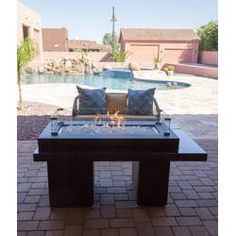 Two Tiered Steel Propane Fire Pit Table Propane Fire Pit Table, Fire Table, Wood Burning Fire Pit, Concrete Fire Pits, Natural Gas Fire Pit, Fire Pit Party, Fire Pit Designs, Patio Heater, Fire Pit Backyard