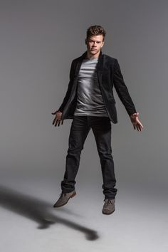 Jimmy Tatro, Leather Pants, Goth, Characters, Style, Fashion, Leather Jogger Pants, Gothic, Swag
