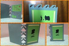 Birthday Card: Mr. Snob. Love the shape <3