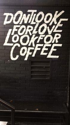 Sweatshop coffee shop in Brooklyn