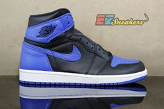 timeless design 34504 a86b5 Air Jordan 1 Retro High OG Black, Royal, White