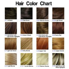 """Aha! Copper Blond! Maybe a hint of auburn brown. That is my hair color! For all those who call it plain old """"brown"""""""