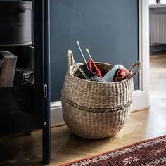 Nieuwe producten - IKEA Ikea Basket, Wicker Baskets, Storage Boxes, Storage Baskets, Ikea Family, Natural Materials, Fossil, Cleaning Wipes, Harvest