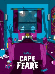 The Simpsons Cape Feare by Florey