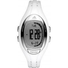 Adidas Sport Digital Lahar Grey Dial Women's watch #ADP3070 adidas. $65.00. Water Resistance : 10 ATM / 100 meters / 330 feet. White Plastic Strap. Chronograph Display
