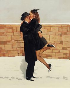 Jack Vettriano, OBE is a Scottish painter. His 1992 painting, The Singing Butler, became a best-selling image in Britain. For biographical notes -in english and italian- and other works by Vettriano see: Jack Vettriano, 1951 Jack Vettriano, The Singing Butler, Michael Carter, New Jack, Impressionist Paintings, Limited Edition Prints, Amazing Art, Love Story, Pin Up