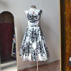 Fleur Blanc Dress (as seen on Glee)