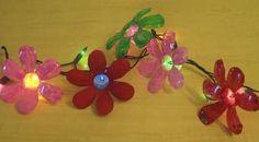 DIY: Plastic Water Bottle Flowers