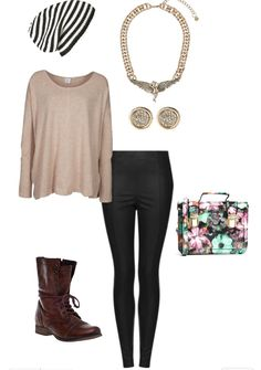 Cool casual fall outfit