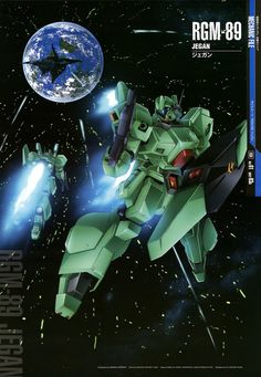 RGM-89 Jegan is a mass produced general purpose mobile suit from the Universal Century timeline.