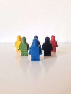 Lego Crayons by on Etsy, We are SO in love these cool crayons. They come in a variety of shapes and colours Wax Crayons, Lego Man, Family Gifts, Archie, Legos, Kids Toys, Crafts For Kids, Cool Stuff, Lego