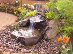 Boulder Falls Inc - Improve the look of your home with a water feature…