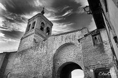 Arco e Iglesia de San Miguel - OLMEDO (Valladolid) España