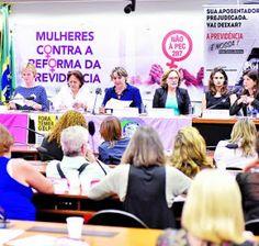 Taís Paranhos: Mulheres criticam PEC da Previdência