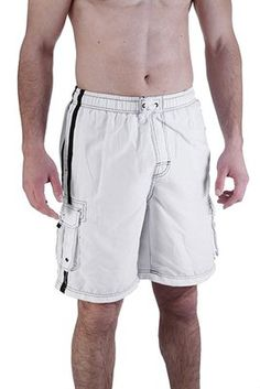 3e2d8103c9 Looking for the perfect Mens Swim Trunk With Cargo Pockets X-Large, White?  Please click and view this most popular Mens Swim Trunk With Cargo Pockets  ...
