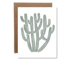 A personal favorite from my Etsy shop https://www.etsy.com/listing/386969902/senita-cactus-blank-card-letterpress