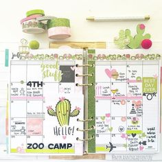 It's hard to believe It's the last week of July #planner…