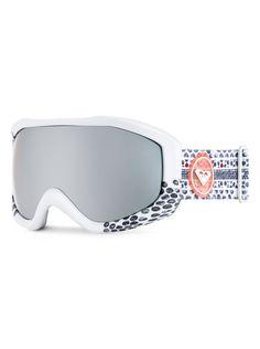 roxy, Sunset Art Series - Snowboard Goggles, POMPEIAN RED (rqv0)