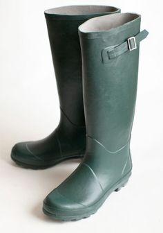simple rain boots