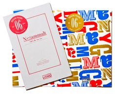 Printing Friends Magazine by Snask, via Behance