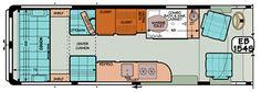 """Sportsmobile Custom Camper Vans - Sprinter Standard Extended Body """"EB"""" Plans"""