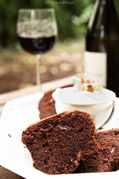 so saftig und lecker: mein absolut liebster Rotweinkuchen ♥