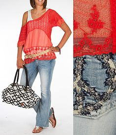 'Casually Romantic' #buckle #fashion www.buckle.com