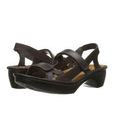 French Roast & Mine Brown Seoul Leather Sandal