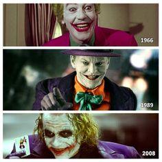 Um dos vilões mais famosos dos quadrinhos também conquistou os fãs de cinema. Pra você, qual desses atores interpretou a melhor versão do Coringa? #Joker