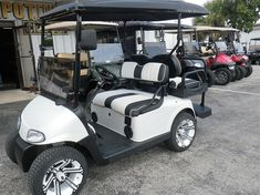 Used Golf Carts, Golf Carts For Sale, Florida Golf, Electric Golf Cart, Car Essentials, Pompano Beach, The Ranch, Scooters, Road Trip