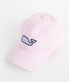 Seersucker Baseball Hat | Vineyard Vines Seriously like give me this hat now