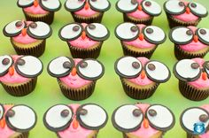 peace, owl, love cupcakes - goes with Hippie chick theme plates.  Very cute!