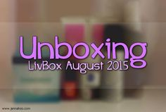 [UNBOXING] LivBox August 2015