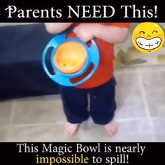 , Spill Proof Saturn Baby Bowl(BUY 1 GET OFF) , Want to stop cleaning foods that wind up all over the floor? Then let our Spill Proof Saturn Baby Bowl help you! This no-spill, toy-like food bowl wil. Baby Gadgets, Cool Gadgets, Childproofing, Cool Inventions, Useful Life Hacks, Baby Life Hacks, Baby Kind, Kids And Parenting, Parenting Advice