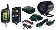 1987-1996 Ford F150 Pyle LCD 2-way Remote Start/Security System
