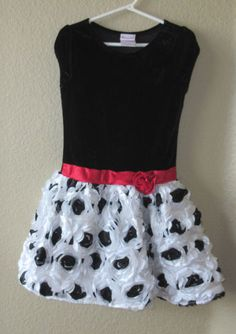 nannette girls size 6 christmas holiday new years party dress
